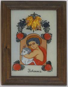 PODMALBA NA SKLE SVATY JAN KRTITEL JOHANNES