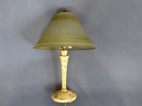 STAROZITNA STOLNI LAMPA RONDOKUBISMUS