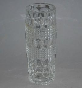 starozitna cira vaza s oky cocky lisovane sklo jiri repasek sklarna bohemia