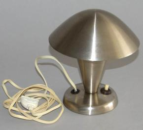 STAROZITNA STOLNI LAMPA LAMPICKA HRIBEK NATACECI STINITKO TYP N 11 FUNKCIONALISMUS