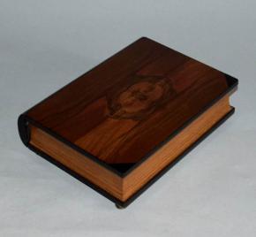 starozitna sperkovnice kniha kazeta orech dyha