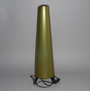 STAROZITNA LAMPA RAKETA BRUSEL ZELENA PLASTOVA PASKA