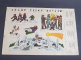 STAROZITNY LADUV CESKY BETLEM ALENA LADOVA ROK 1970