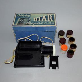 stary detsky diar projektor 35 mm promitacka filmu pohadky